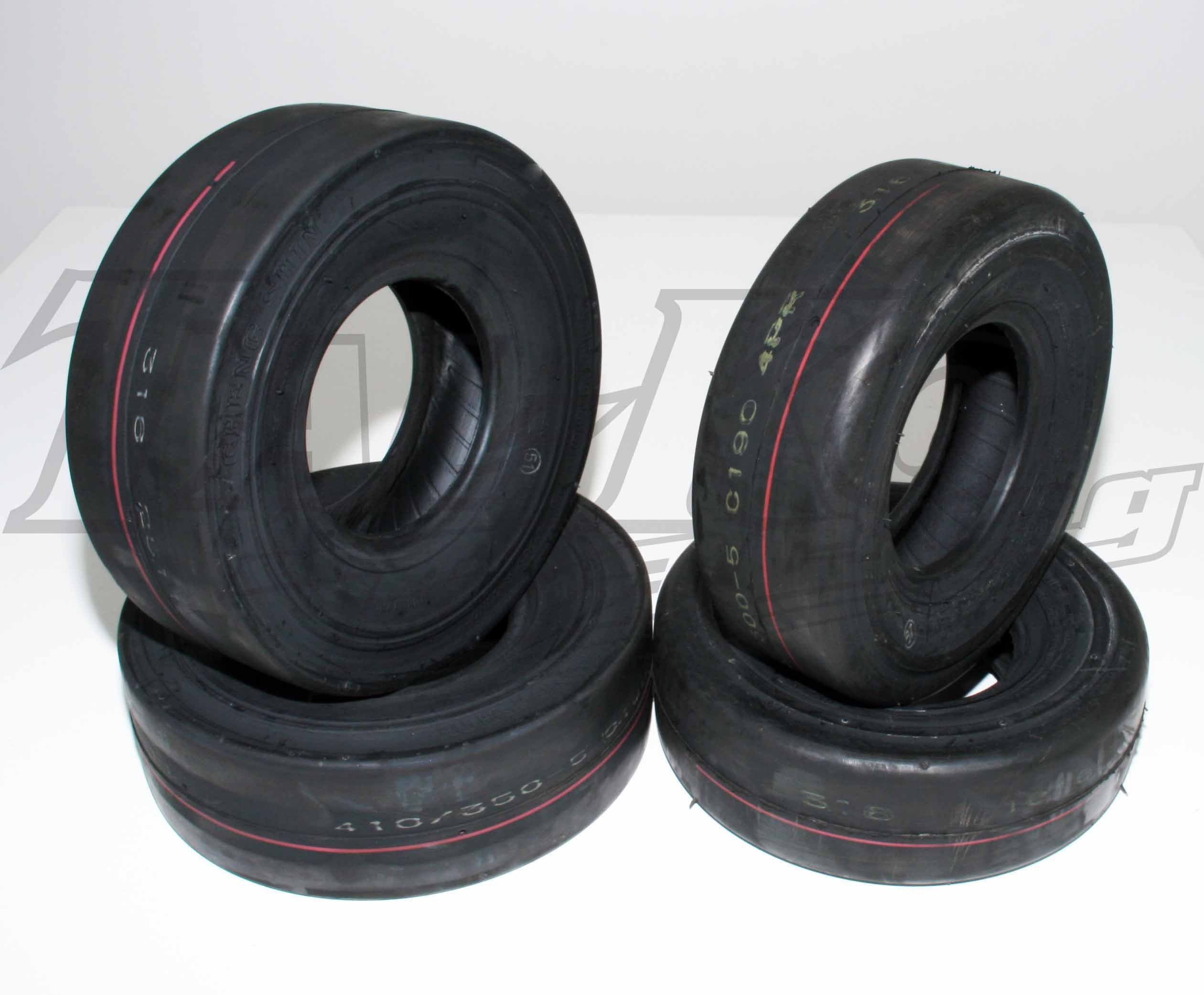 SET of DRY VINTAGE MAXXIS TYRES