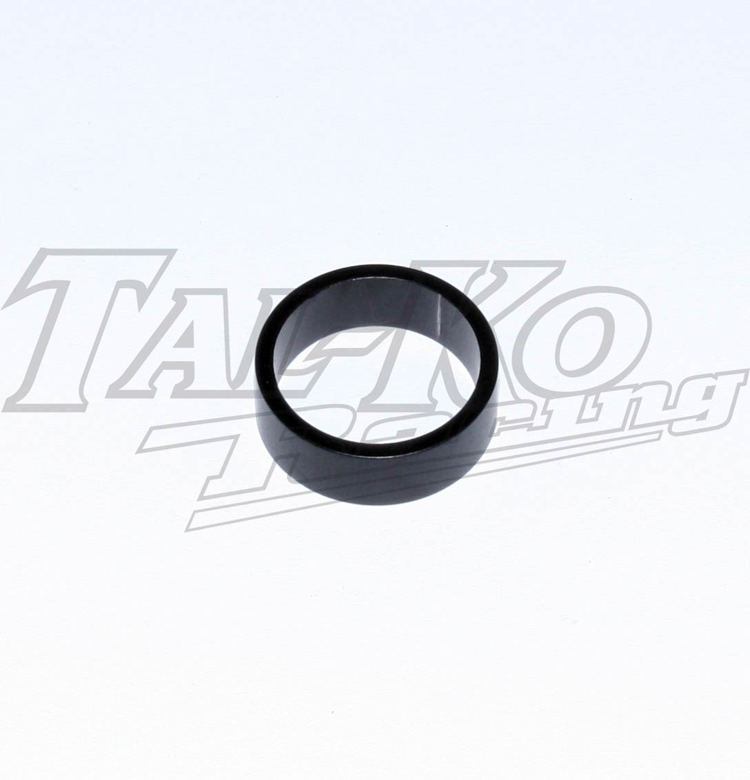R/R STUB AXLE WHEEL SPACER D25 x 10 BLACK