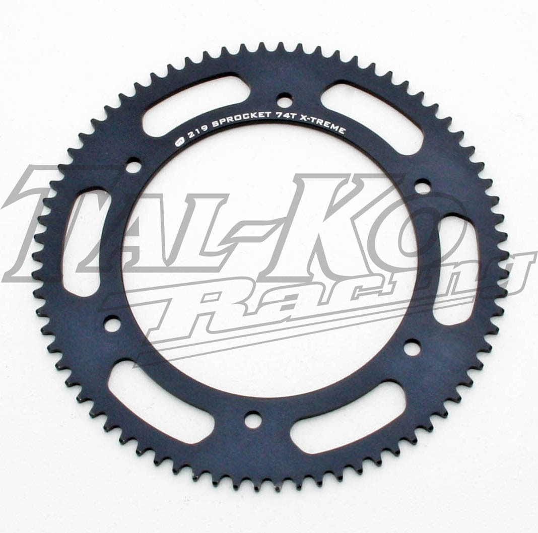 X-TREME AXLE SPROCKET 219 74T N