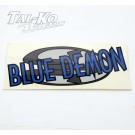 CRG BLUE DEMON STICKER DECAL 230 x 100