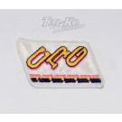 CRG CLOTH RACE SUIT BADGE 125 x 65