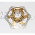 CRG REAR BRAKE DISC CARRIER 35mm GOLD