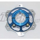 CRG REAR BRAKE DISC CARRIER 40mm BLUE