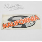 CRG KALIFORNIA STICKER DECAL 230 x 100