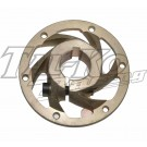CRG REAR BRAKE DISC CARRIER ROUND 35mm MAG