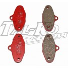 CRG V99 FRONT BRAKE PAD SET 4