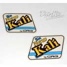 CRG KALI STICKER DECAL TANK KIT BLUE