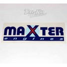 MAXTER ENGINE STICKER DECAL 285 x 105