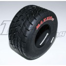 FRONT WET MAXXIS F/TKM TYRE RED LABEL