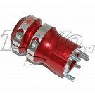 WK REAR WHEEL HUB LONG 50mm x 125 RED