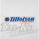 TILLOTSON RACING STICKER DECAL 118 x 27
