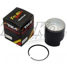 TKM TT PISTON COATED + SINGLE RING 55.40mm