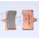 CRG V04 REAR BRAKE PAD SET 2 SYNTERED